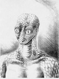 爬虫類型宇宙人レプティリアン